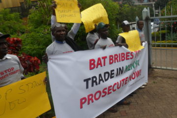 Kenya launches an investigation against BAT. Photo credit: Samuel Ochieng, Consumer Information Network