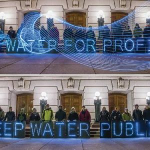 fighting privatization of water