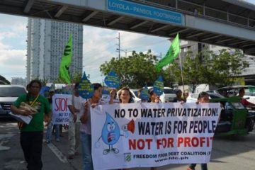 Freedom from Debt Coalition, during the international week of action in Manila, Philippines.