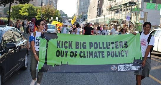 Corporate Accountability organizers seek to keep Big Polluters accountable for their actions.