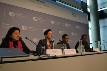 Corporate Accountability International and our allies at the most recent meetings of the U.N. climate treaty.