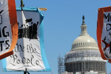 We the people sign in DC