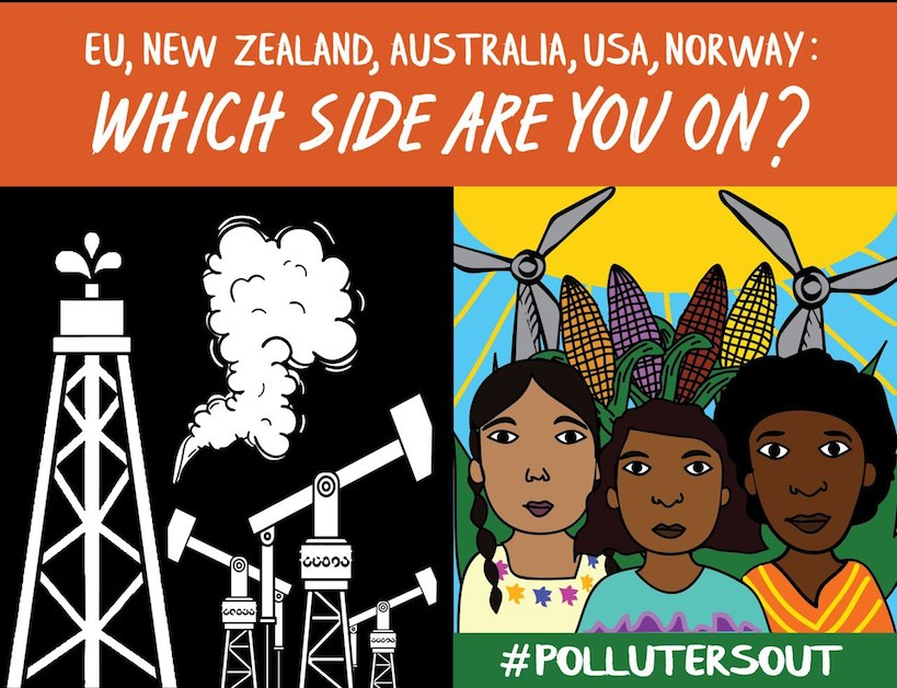EU, NZ, Australia, USA, Norway: Which side are you on?