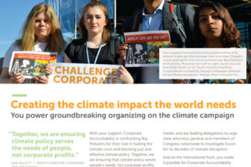 Corporate Accountability spotlight newsletter
