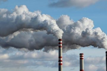 Smoke stacks and pollution, creative commons