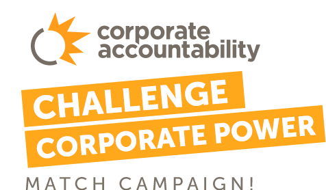 Corporate Accountability Challenge Corporate Power Match Campaign