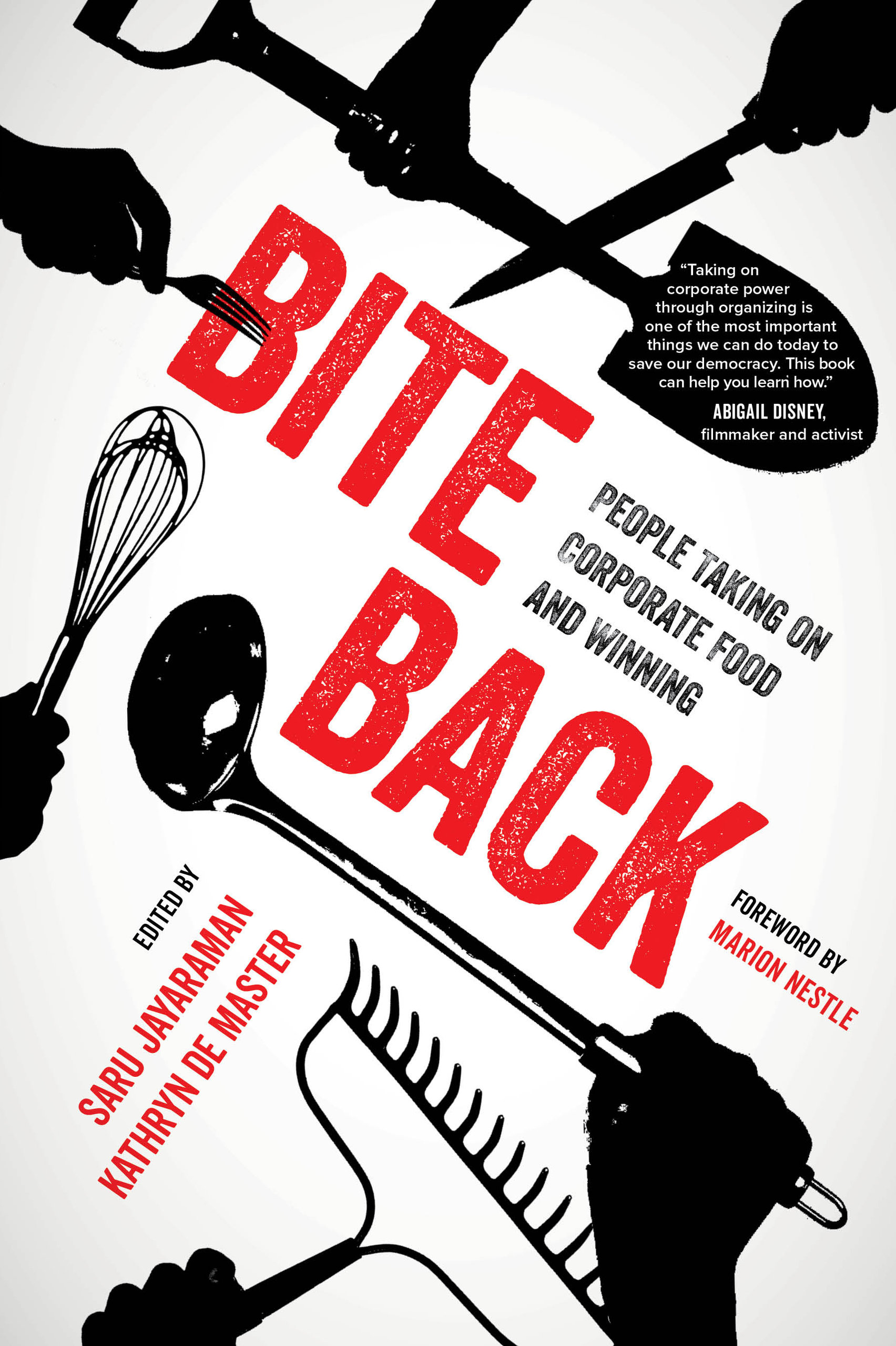 Bite Back book cover, published by University of California Press